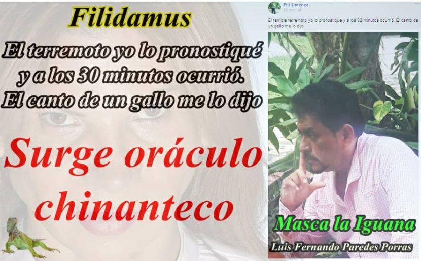 Masca la Iguana/ Filidamus: el oráculo chinanteco
