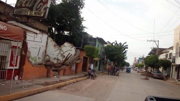 Deja dos muertos sismo en Ixtepec