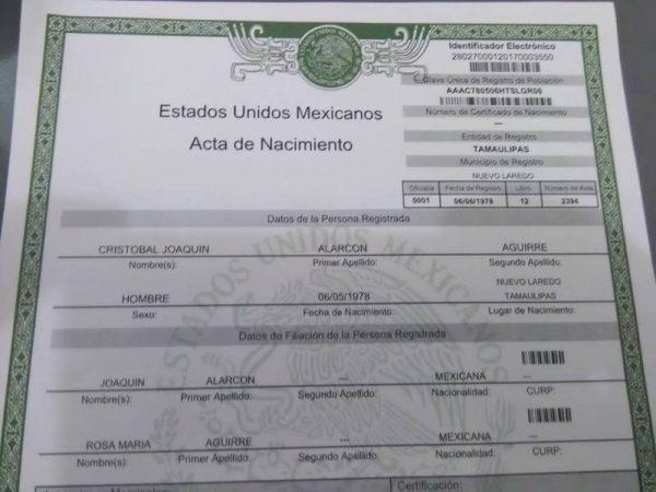 Registro Civil de Tuxtepec sin hojas para impresión de actas de nacimiento