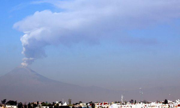 Sigue en Amarillo Fase 2 semáforo de alerta volcánica del Popocatépetl