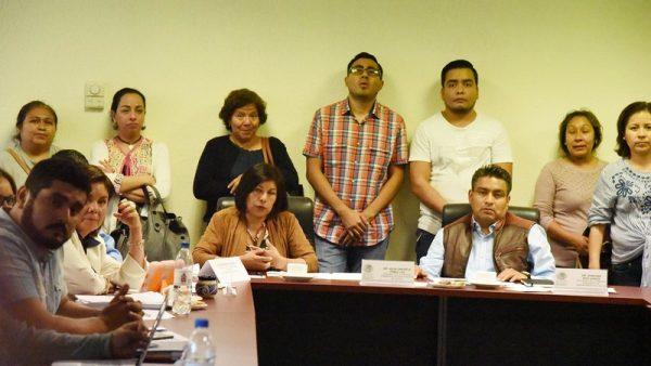 Atienden Legisladores peticiones de trabajadores de la Fiscalía de Oaxaca
