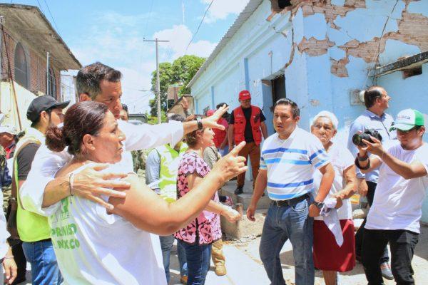 Censo de viviendas dañadas en Oaxaca registra avance del 62 por ciento