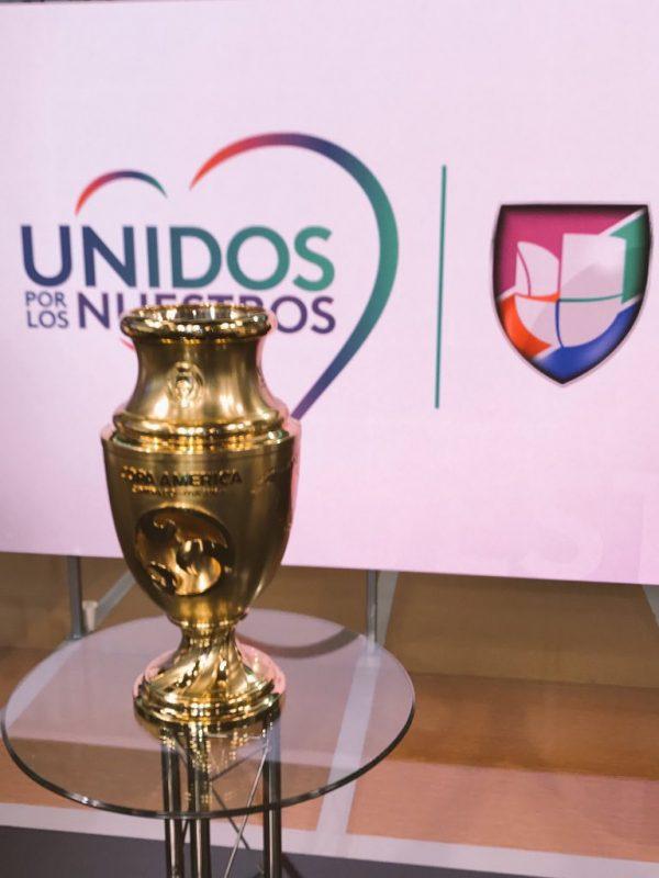 Subastarán Copa América Centenario para ayudar a México