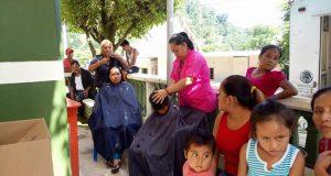 Caravana de la salud de Irineo Molina visita Santiago Jocotepec