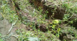 Hay zozobra en la Mixteca porque se abrió la tierra