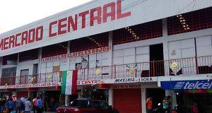 Reportan locatarios del mercado central, daños por sismo del 7 de septiembre