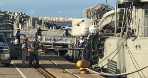 Llegan buques de la Armada de México con ayuda para Oaxaca