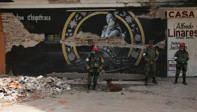 Asume Policía Militar seguridad en Juchitán