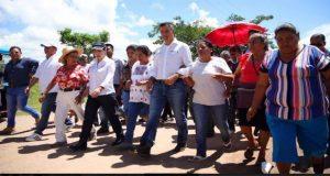 Reitera Murat apoyo a afectados para la reconstrucción en Oaxaca