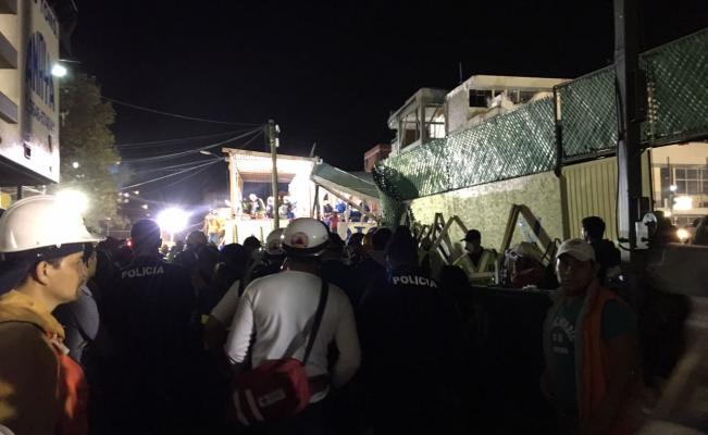 Crónica. Colegio Rébsamen, epicentro de la tragedia del sismo
