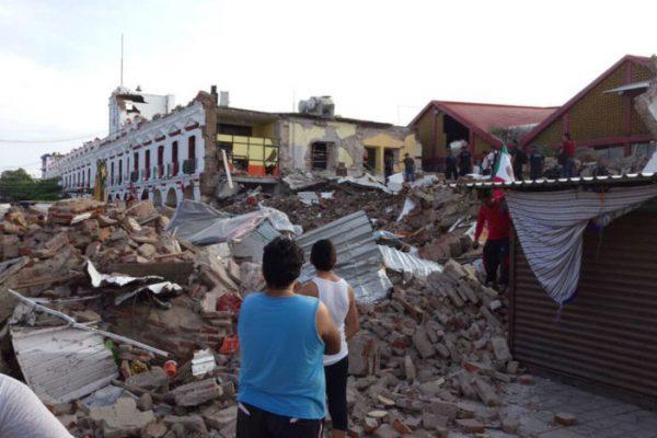 Declaran estado de emergencia y desastre en Oaxaca por sismos