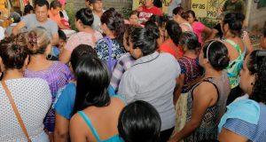El Diputado Samuel Gurrión Matías continúa recorriendo las zonas afectadas por el sismo del pasado 7 de septiembre