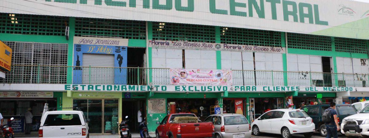 Autorizan 19 mdp para remodelación del Mercado Central