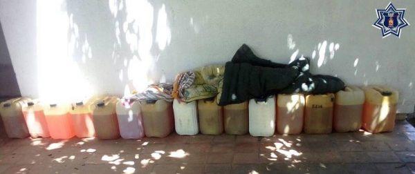 Detenidos cuando transportaban 20 bidones de hidrocarburo en el Istmo