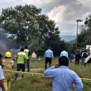 """Sofocan incendio en cohetería de santa maría """"El Tule"""""""