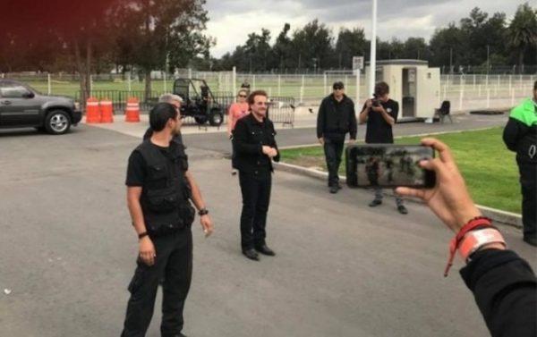 Bono, confirma que grabará el concierto del Foro Sol