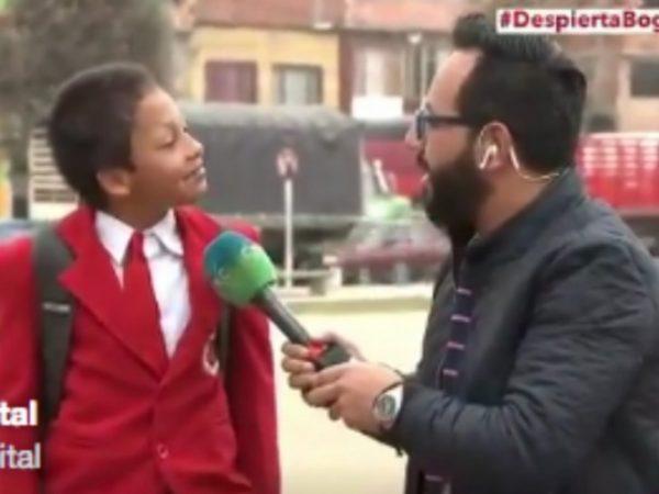 Video: Para no llegar tarde a clase… ¡abandona entrevista!