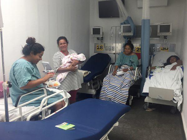 Nacen 155 bebés en Hospital Móvil de Juchitán
