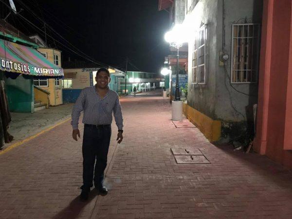 Con toque turístico calle Porfirio Díaz fue inaugurada por Arturo García en Jalapa de Díaz