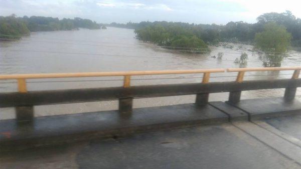 Niveles de ríos a la baja reporta Protección Civil Estatal