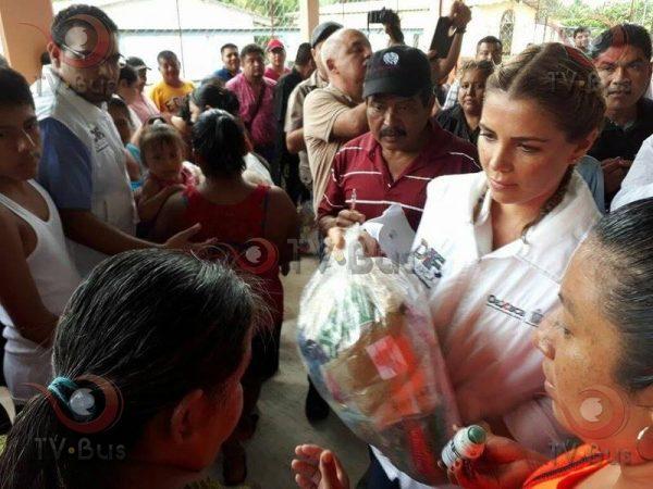 Destina DIF Estatal 37 toneladas de víveres para damnificados de la Cuenca