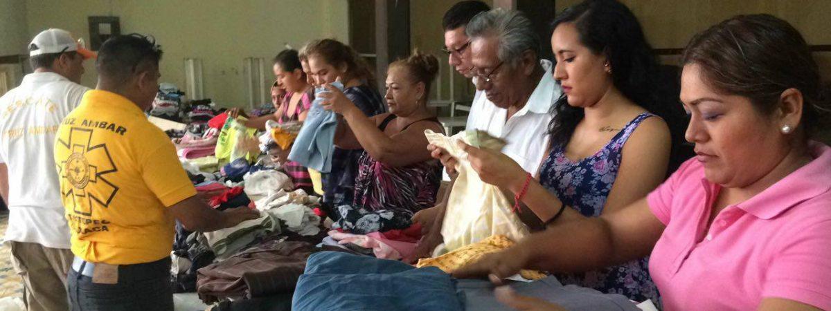 Centro de acopio recibe ayuda de la ciudadanía tuxtepecana