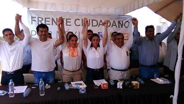 """Presentan """"Frente Ciudadano por México"""" en Tuxtepec"""