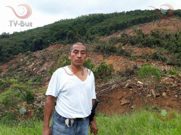 Miedo en Arroyo Palomo, por continuo desgajamiento del Cerro Mascara