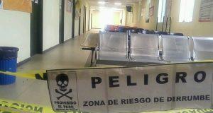 Sin riesgo área de Consulta Externa del Hospital de Tuxtepec