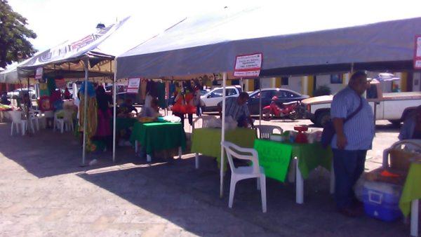 Realiza CODECI primer exposición agroartesanal en Tuxtepec