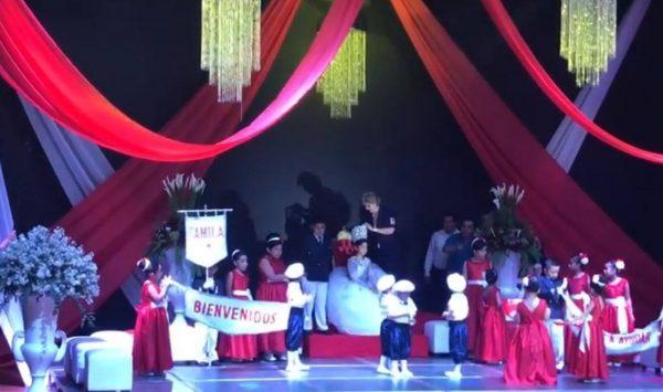 Coronan a Camila primera como reina infantil de la Cruz Roja delegación Tuxtepec