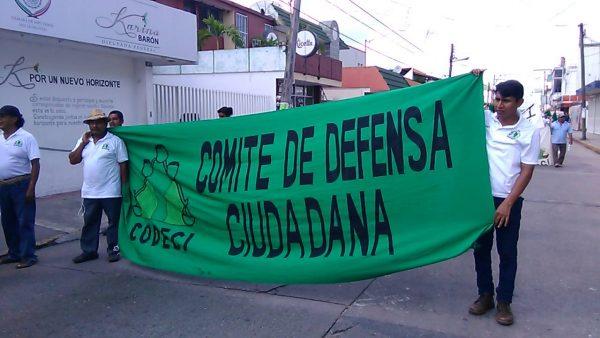 Marcha CODECI a siete años del asesinato de su fundador Catarino Torres Pereda