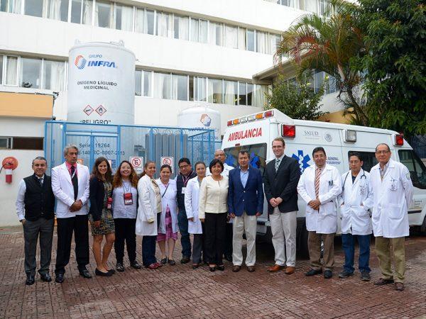 Donan más de 14 MDP en equipo médico al Hospital Civil