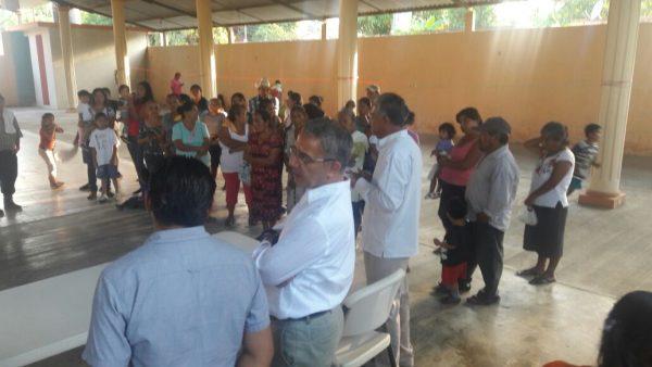 Horacio Orozco realiza jornadas de atención en colonias de Tuxtepec