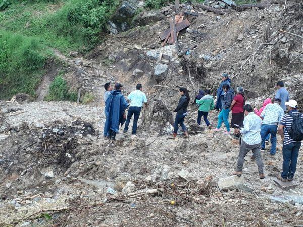 Deja Ramón 50 casas dañadas en San Andrés Teotilalpan, 10 de ellas con pérdidas total