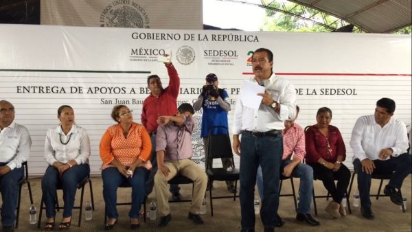 Sedesol apoyara con 3 millones de pesos a Palo Gacho: Eviel