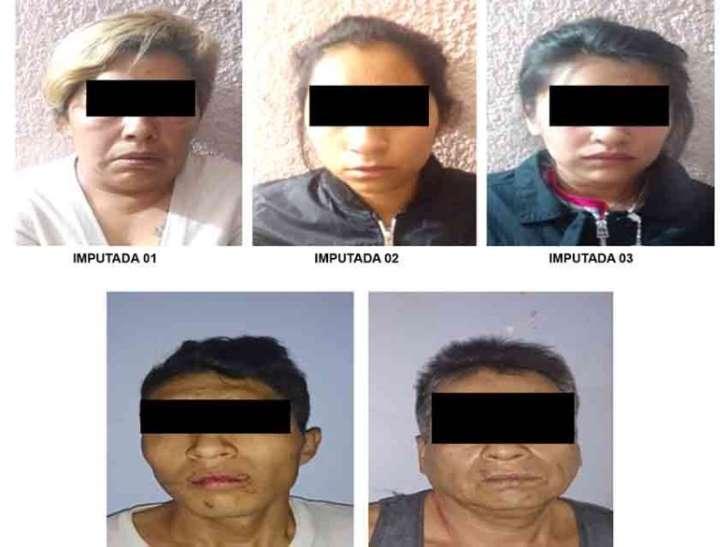 Cae narcofamilia; todos tenían antecedentes penales