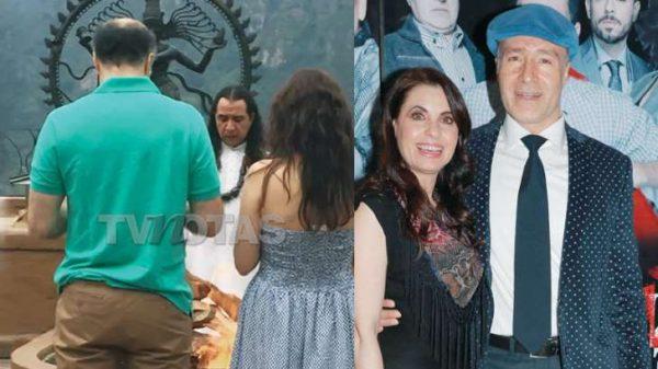 Odiseo Bichir y Yolanda Ventura por fin se casaron