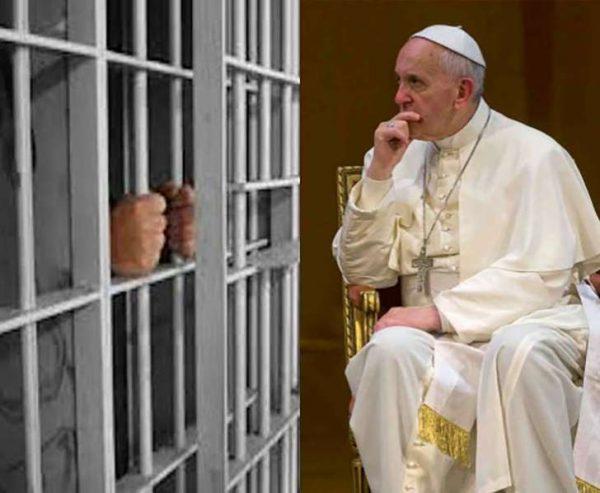 El Papa Francisco invita a veinte presos a cenar y se fugan dos