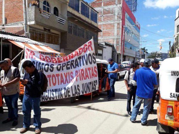 CTM exige solución a problemas del transporte, instala huelga de hambre