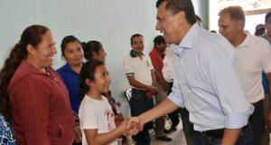 Celebra Diputado Samuel Gurrión reanudación de clases en regiones afectadas por sismos y lluvias