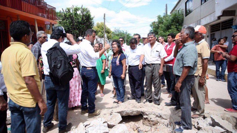 Inicia Gobierno demolición de viviendas afectadas por sismos: AMH