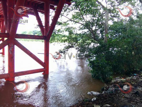 Llama Protección Civil a desalojar zonas bajas de Tuxtepec por aumento de nivel del Papaloapan