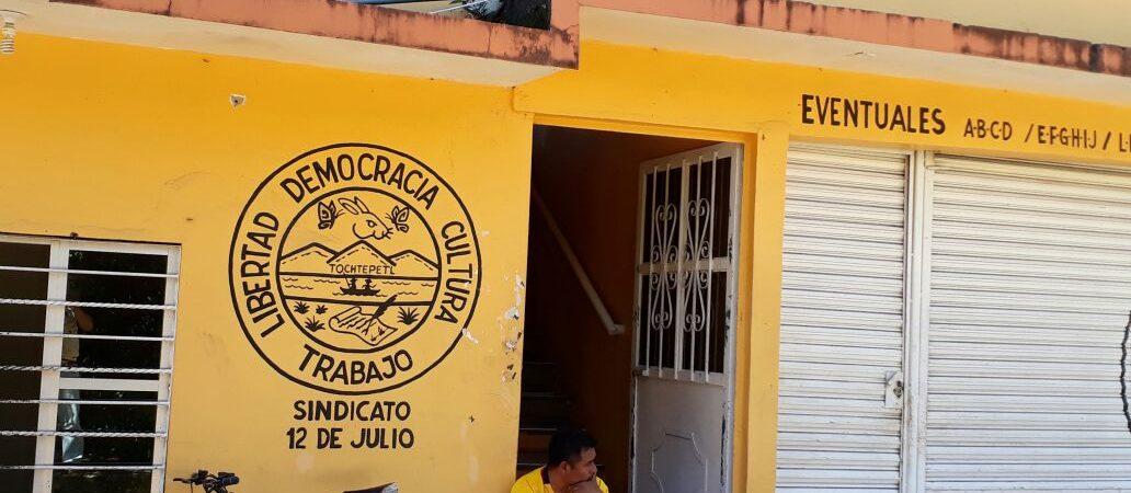 Ayuntamiento de Tuxtepec adeuda más de 3 millones de pesos a pensionados: Sindicato12 de Julio