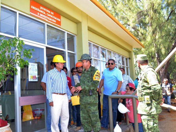 Reconstruirá Sedena Hospital General de Juchitán: SSO