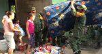 Llega ayuda humanitaria a Palo Gacho