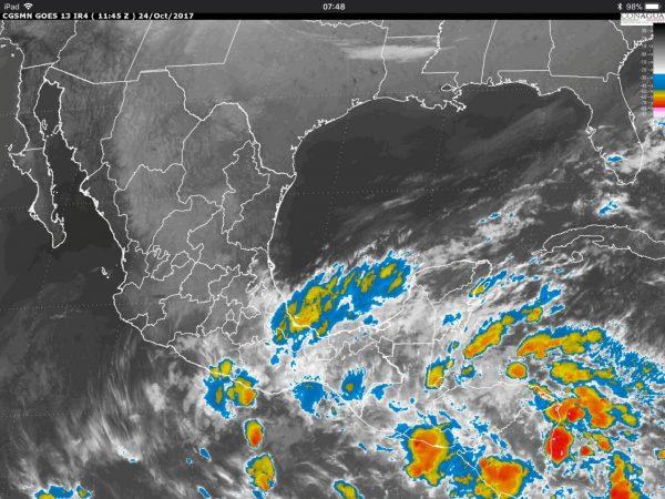 Se pronostican lluvias intensas para el estado de Oaxaca