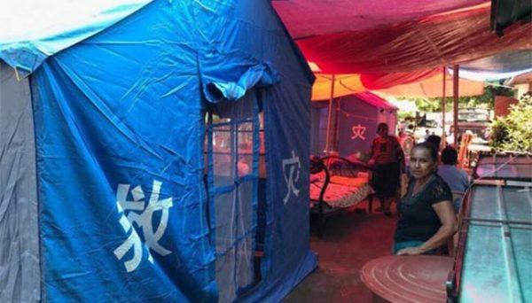 Ayuda china llega a Oaxaca y Morelos