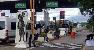 Toman caseta de peaje en Oaxaca, protestan por caso Nochixtlán