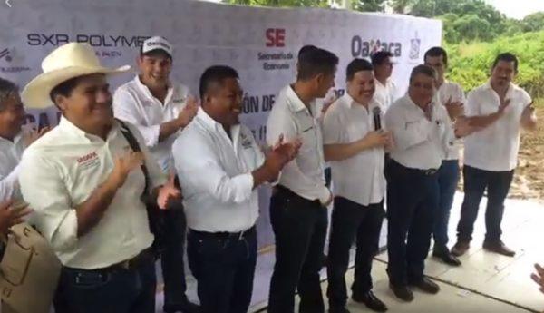 Dávila, virtual candidato de Morena-PT, festeja destape del priista Murat